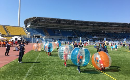 BubbleBalls at the OPAP Academy Festival in Kaftanzoglio