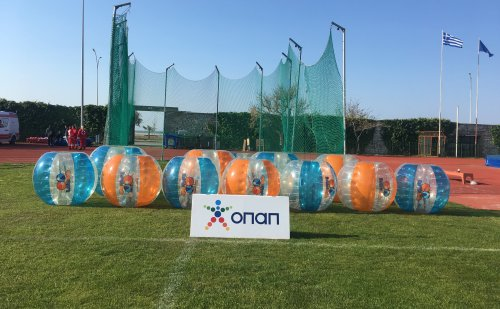 Bubbleballs travel to Alexandroupolis for another OPAP Academy Festival