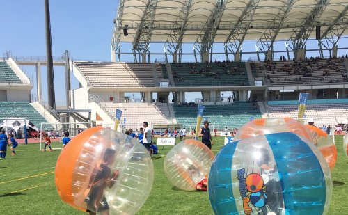 The Panthessalliko Stadium of Volos hosted the OPAP Academies Festival